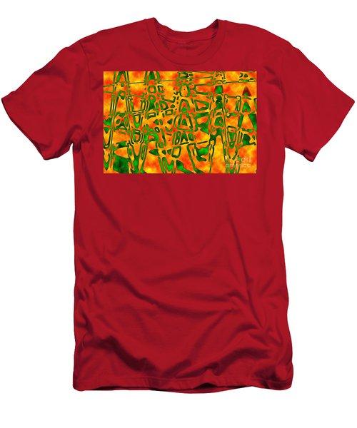 Strange Hieroglyphs Men's T-Shirt (Athletic Fit)