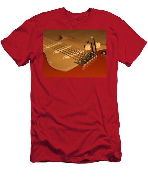 Strummed Men's T-Shirt (Slim Fit) by James Barnes