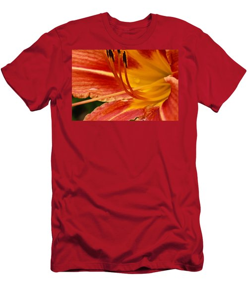 Summer Daylily Men's T-Shirt (Athletic Fit)