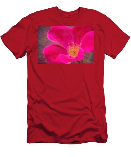 Summer Delight My Pink Rose Men's T-Shirt (Athletic Fit)