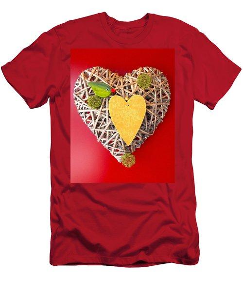 Men's T-Shirt (Slim Fit) featuring the photograph Summer Heart by Juergen Weiss