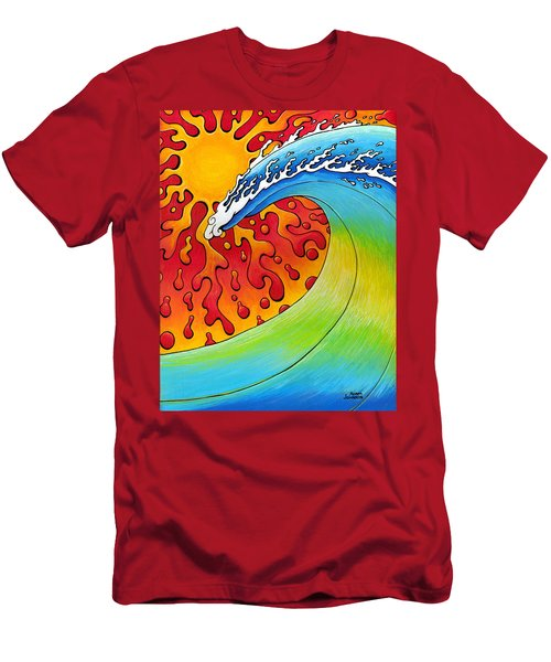 Sun And Surf Men's T-Shirt (Athletic Fit)