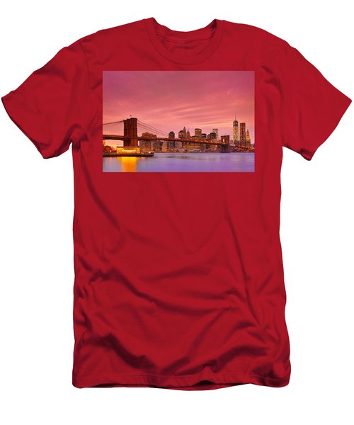 Sundown City Men's T-Shirt (Slim Fit) by Midori Chan