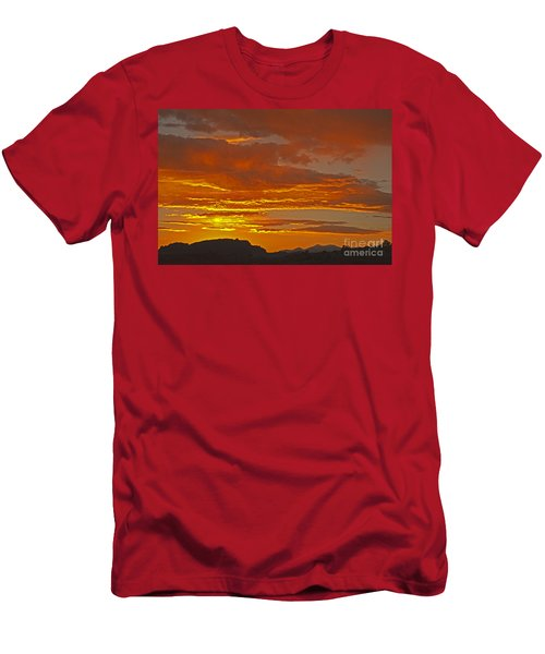 Sunrise Capitol Reef National Park Men's T-Shirt (Athletic Fit)