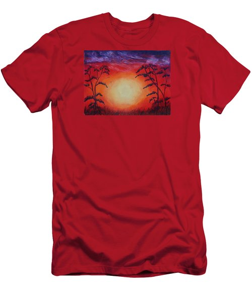 Sunset 1 Men's T-Shirt (Slim Fit) by Jeanne Fischer