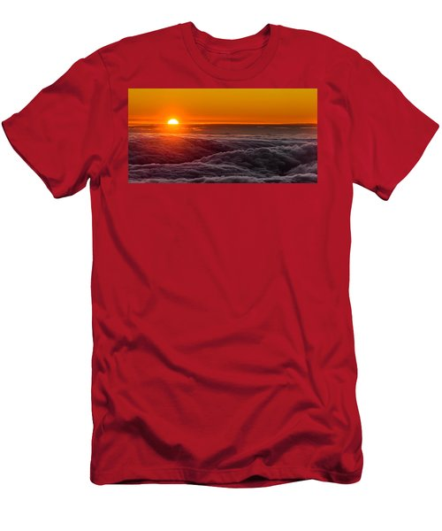 Sunset On Cloud City 1 Men's T-Shirt (Athletic Fit)