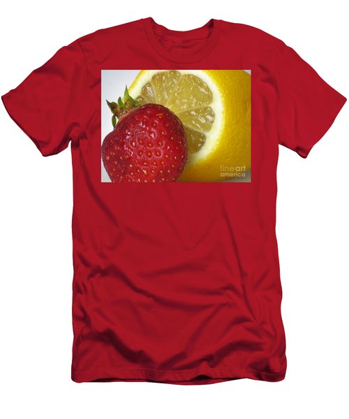 Men's T-Shirt (Slim Fit) featuring the photograph Sweet And Sour by Nina Silver