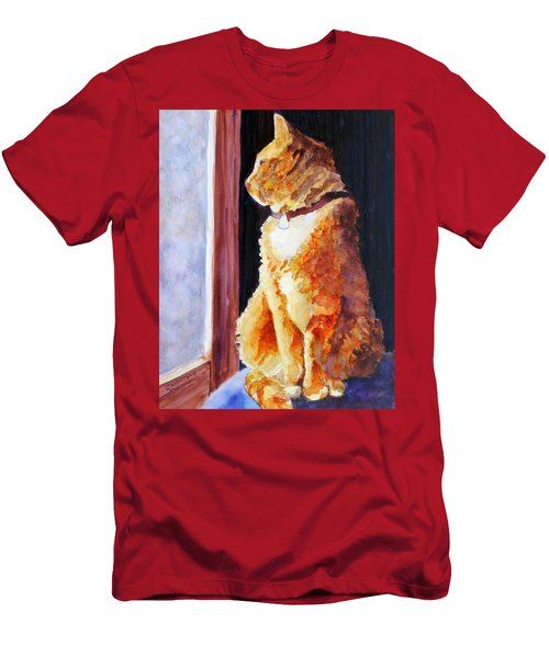 Tabby's Favorite Seat Men's T-Shirt (Athletic Fit)