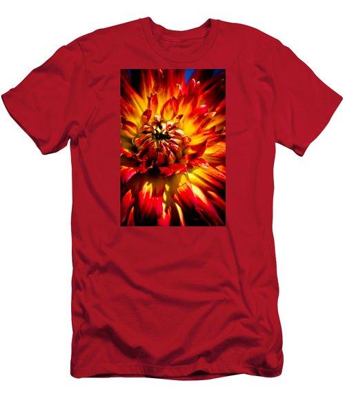 Men's T-Shirt (Slim Fit) featuring the photograph Tahiti Sunrise by Joel Loftus