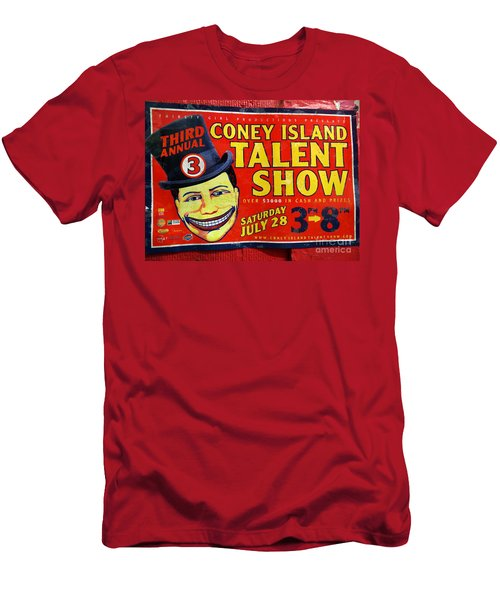 Talent Show Men's T-Shirt (Athletic Fit)