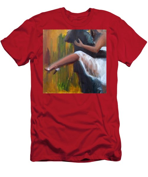 Tango On The Piazza Men's T-Shirt (Athletic Fit)