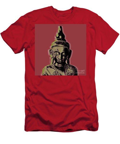 Thai Buddha #1 Men's T-Shirt (Athletic Fit)