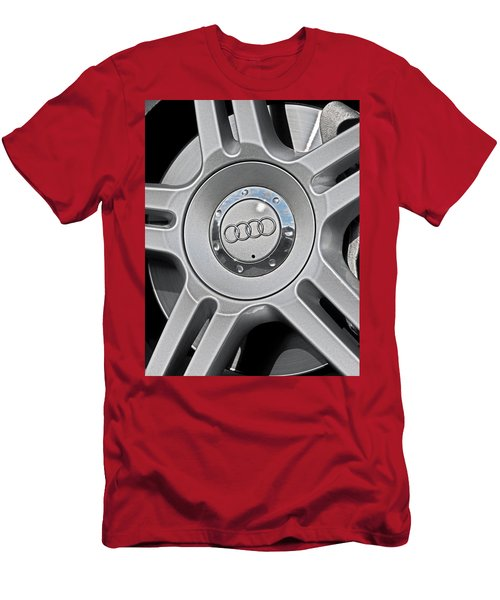 The Audi Wheel Men's T-Shirt (Athletic Fit)