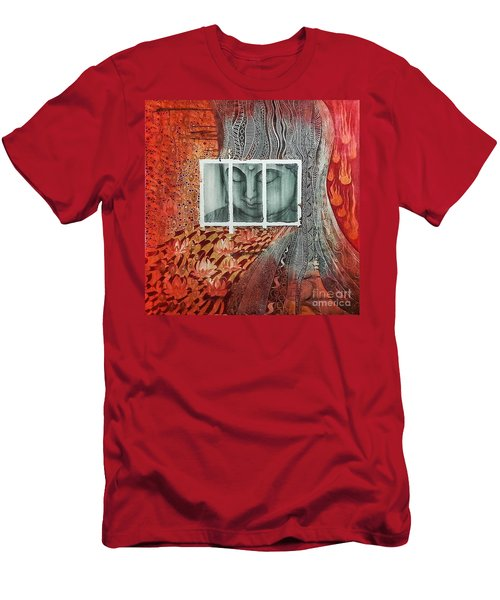 The Buddhist Color Men's T-Shirt (Athletic Fit)