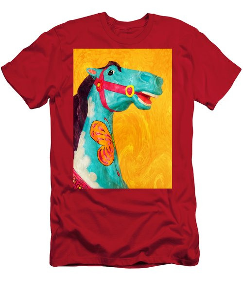 The Carousel Horse Men's T-Shirt (Athletic Fit)