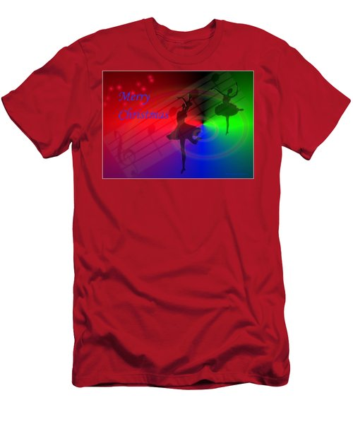 The Dance - Merry Christmas Men's T-Shirt (Athletic Fit)