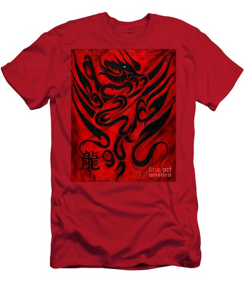 The Dragon Men's T-Shirt (Athletic Fit)