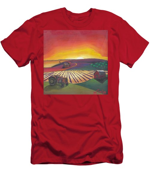 'the Farm' Men's T-Shirt (Athletic Fit)
