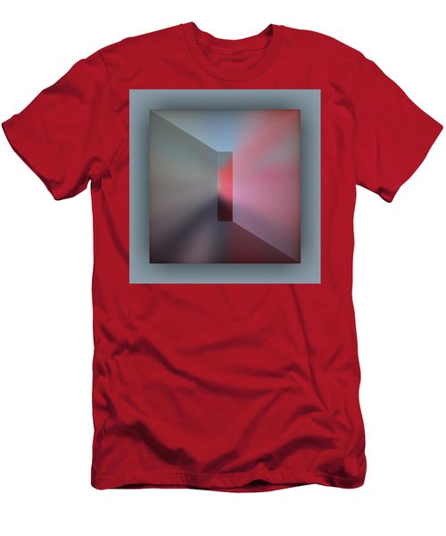 Men's T-Shirt (Athletic Fit) featuring the digital art The Focus by Mihaela Stancu