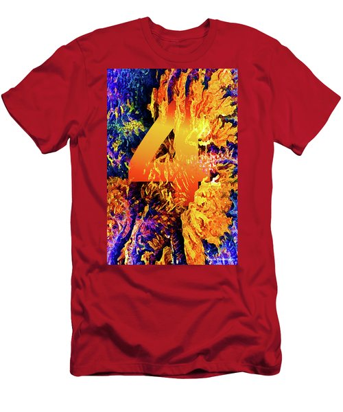 The Four Of Creation Men's T-Shirt (Athletic Fit)