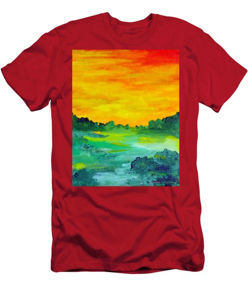 The  Lagoon Men's T-Shirt (Athletic Fit)