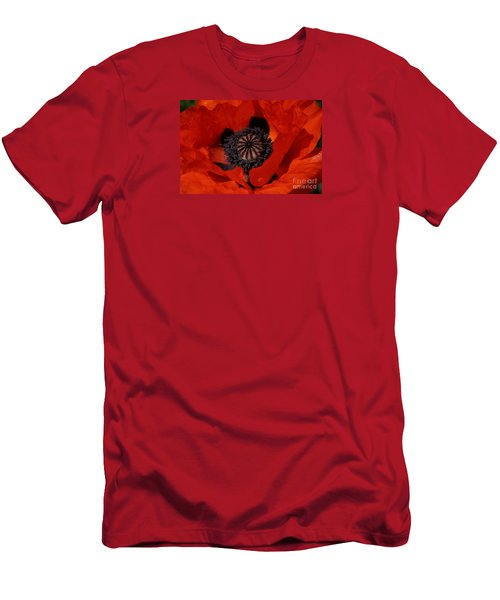The Poppy Is Also A Flower Men's T-Shirt (Athletic Fit)