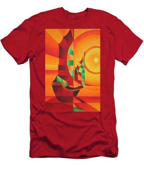 The Red Sea Men's T-Shirt (Athletic Fit)