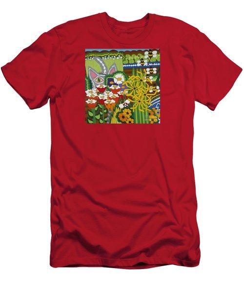 The Stalker Men's T-Shirt (Slim Fit) by Rojax Art