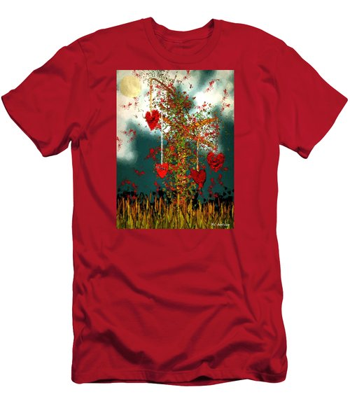 The Tree Of Hearts Men's T-Shirt (Athletic Fit)