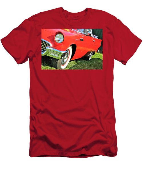 Thunderbird In Red Men's T-Shirt (Athletic Fit)