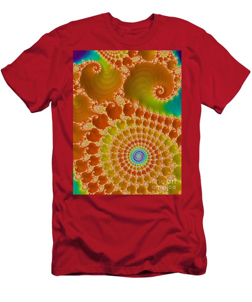 Tie Dye  Men's T-Shirt (Athletic Fit)
