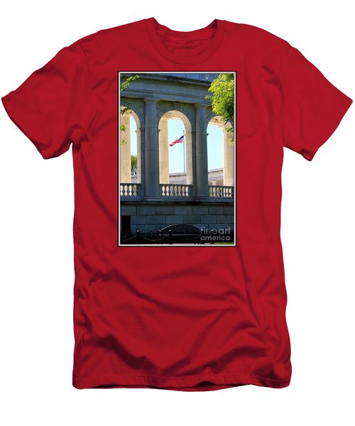 Time To Reflect Men's T-Shirt (Slim Fit) by Patti Whitten