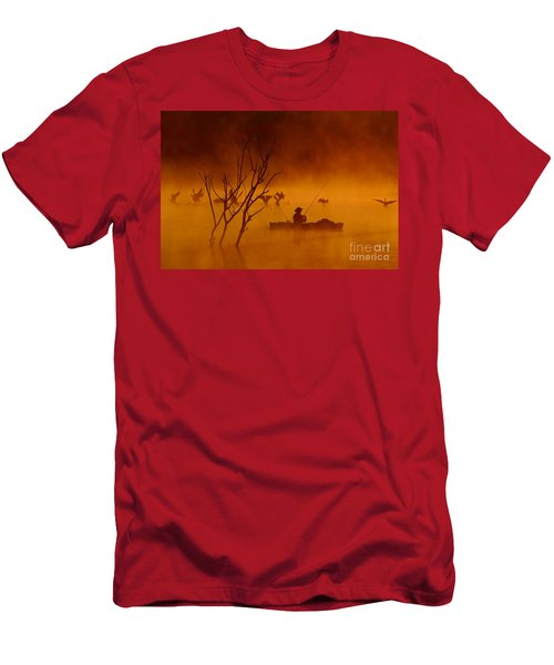 Time To Spread My Wings And Fly Men's T-Shirt (Athletic Fit)