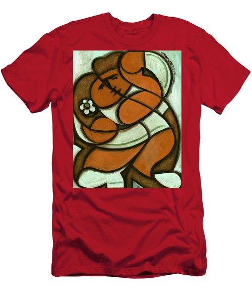 Tommervik Hawaiian Dancers Art Print Men's T-Shirt (Athletic Fit)