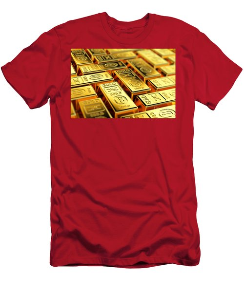 Tons Of Gold Men's T-Shirt (Athletic Fit)