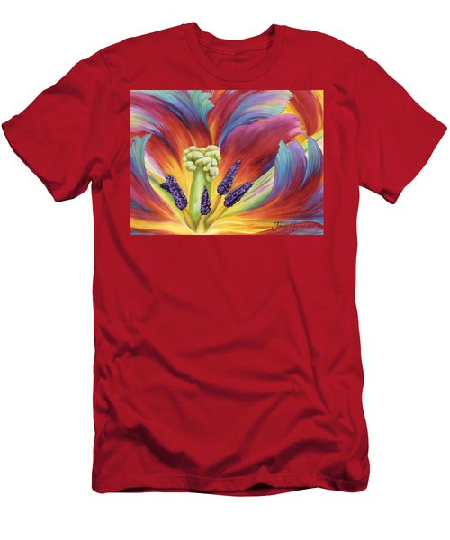 Tulip Color Study Men's T-Shirt (Athletic Fit)
