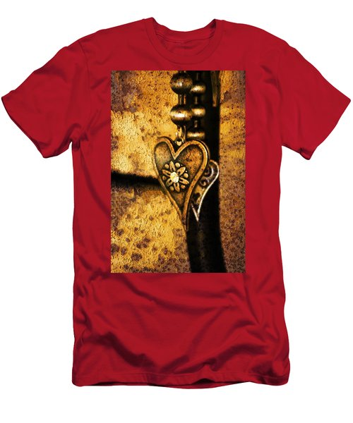 Two Hearts Together Men's T-Shirt (Athletic Fit)