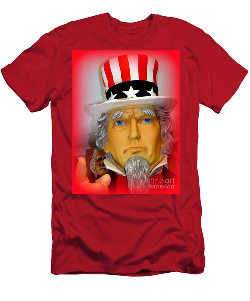 Uncle Sam Wants You Men's T-Shirt (Athletic Fit)
