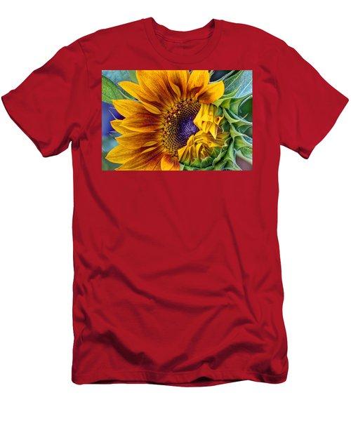 Unfurling Beauty Men's T-Shirt (Athletic Fit)