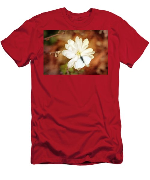 Men's T-Shirt (Slim Fit) featuring the photograph Unity by Trina  Ansel