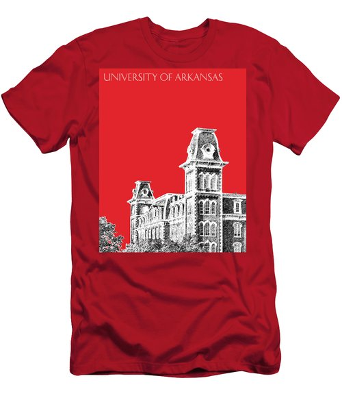 University Of Arkansas - Red Men's T-Shirt (Athletic Fit)