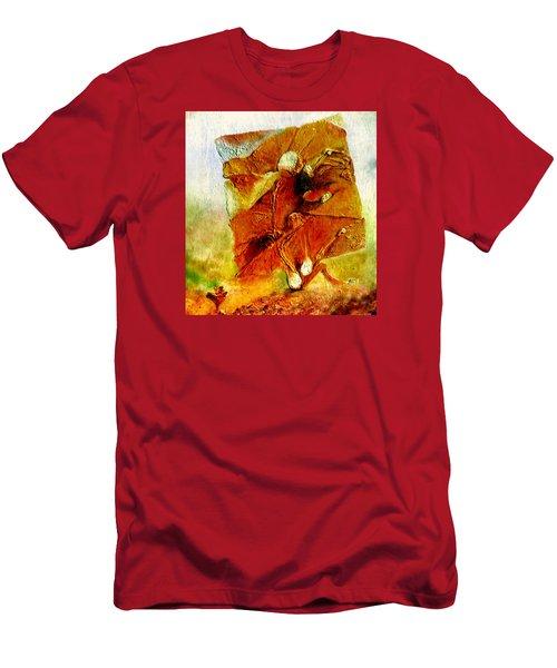 Untitled Men's T-Shirt (Slim Fit) by Henryk Gorecki