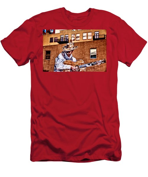 Urban Cowboy Men's T-Shirt (Slim Fit) by Bill Kesler
