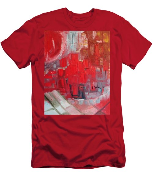 Urban View Men's T-Shirt (Slim Fit) by Evelina Popilian