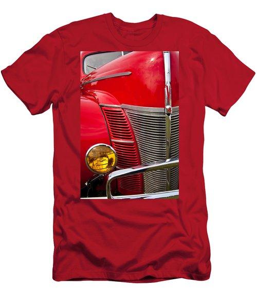 V8 - Another View Men's T-Shirt (Slim Fit) by Mark Alder
