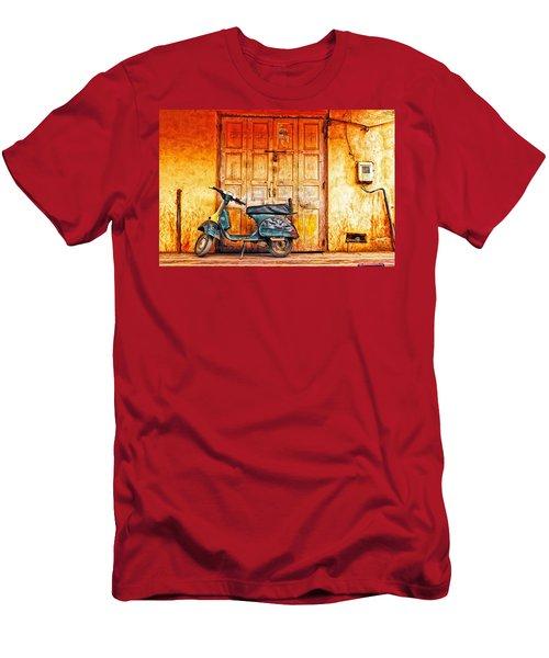Vespa Men's T-Shirt (Athletic Fit)