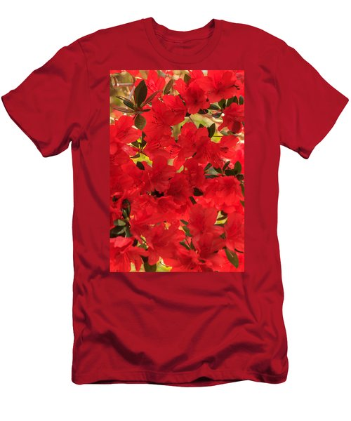 Vibrant Azalea Men's T-Shirt (Athletic Fit)