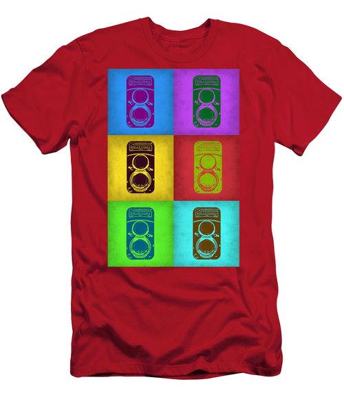 Vintage Camera Pop Art 2 Men's T-Shirt (Athletic Fit)