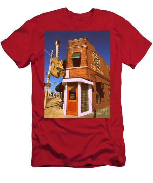 Vintage Sun Studio Men's T-Shirt (Athletic Fit)