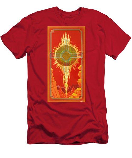 Visitation Men's T-Shirt (Slim Fit) by Alan Johnson